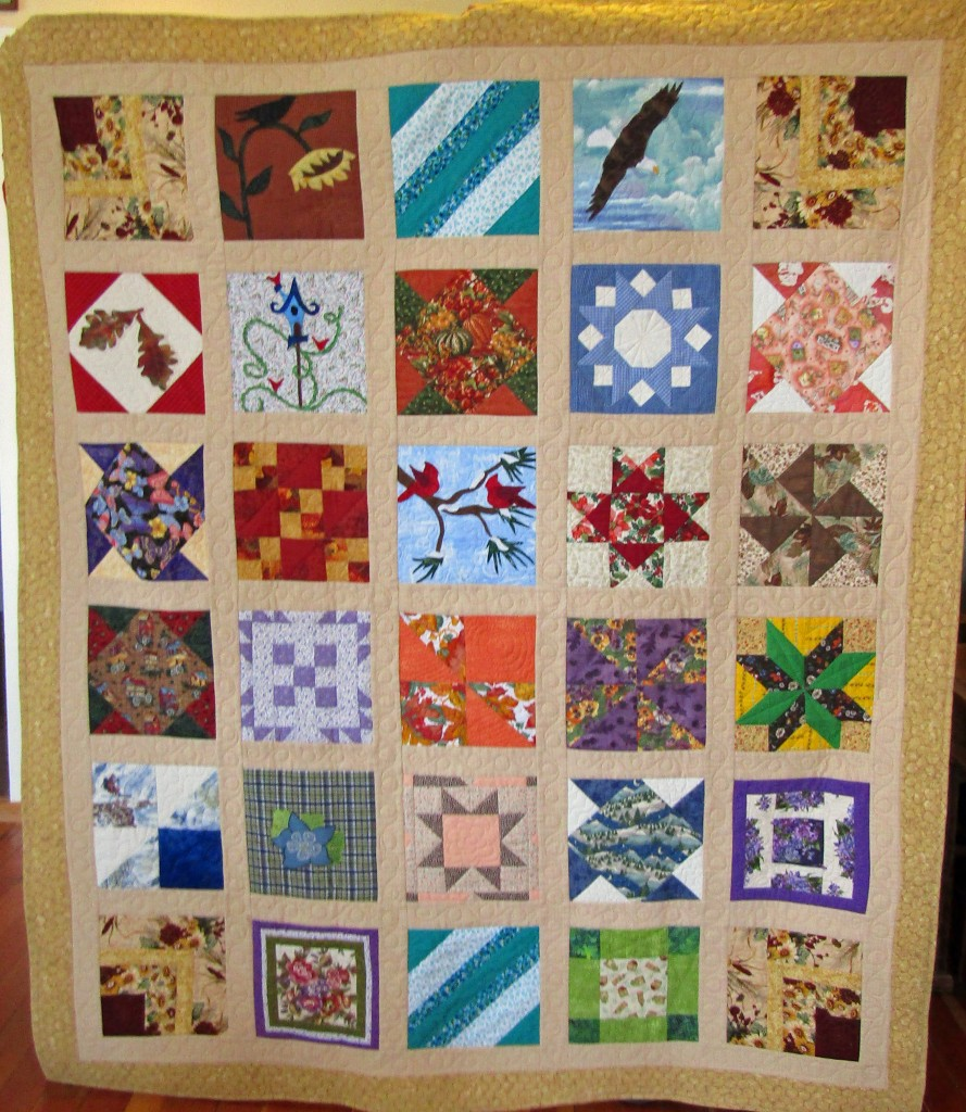 2016 Quilt, Historical Society